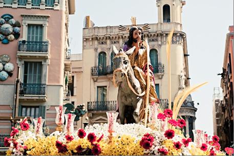 Påske i Barcelona